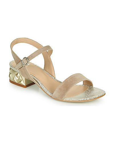 Beżowe sandały Perlato