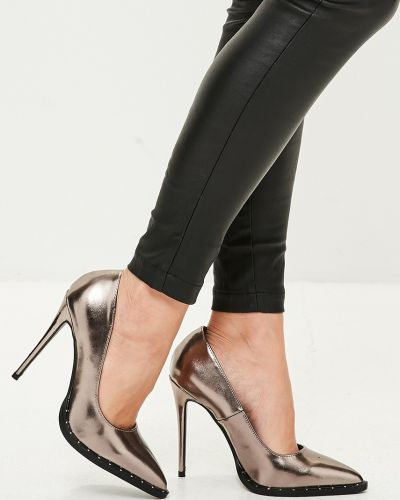Туфли на высоком каблуке на шпильке на каблуке Missguided