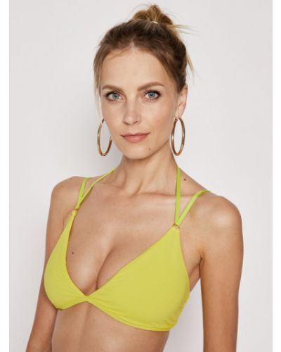 Żółty bikini Polo Ralph Lauren