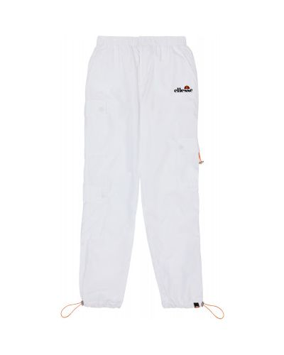 Белые брюки с карманами свободного кроя Ellesse