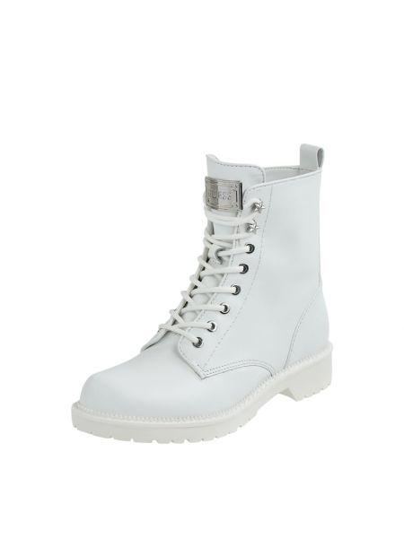 Biały zasznurować buty Guess