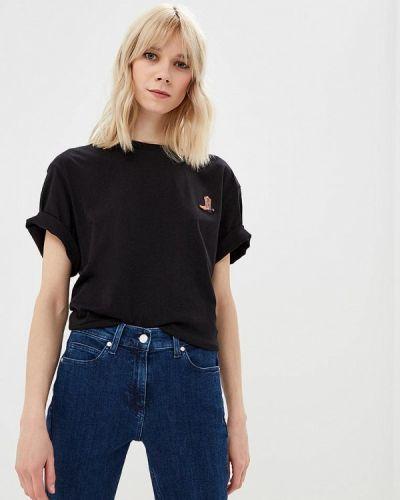 Черная футболка 2019 Calvin Klein