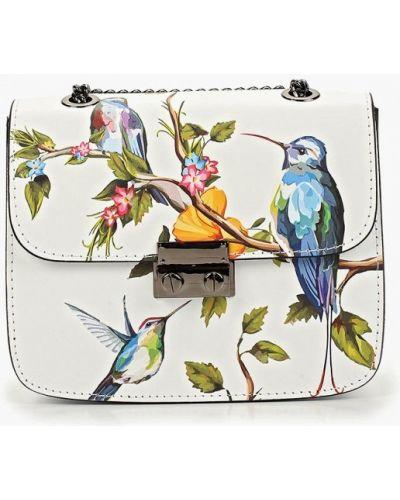 Кожаная сумка через плечо итальянский Roberta Rossi