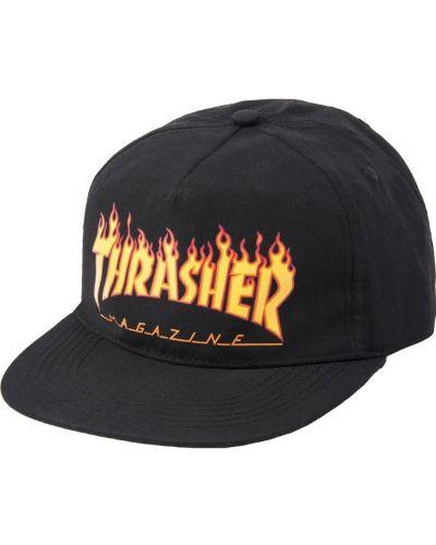Черная кепка Thrasher