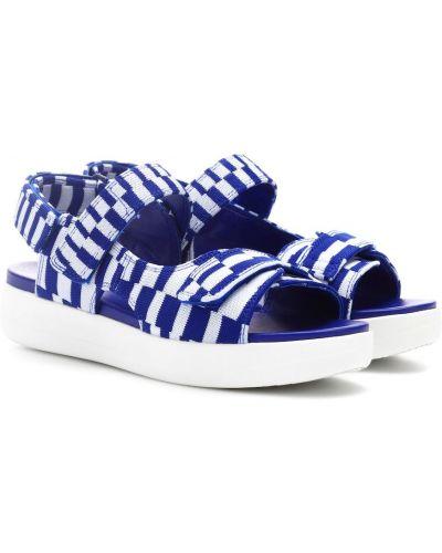 Спортивные сандалии синий песочный Tory Sport