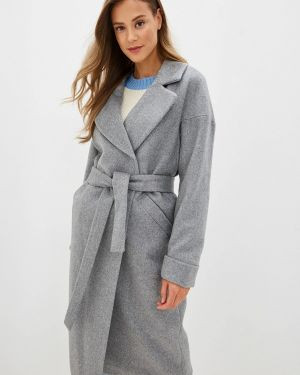 Пальто демисезонное серое Ylluzzore