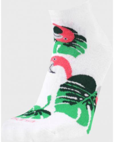 Белые носки бамбуковые Duna
