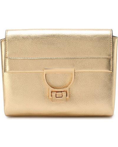 Кожаный сумка маленькая большая Coccinelle