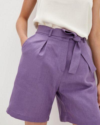 Фиолетовые повседневные шорты Прованс