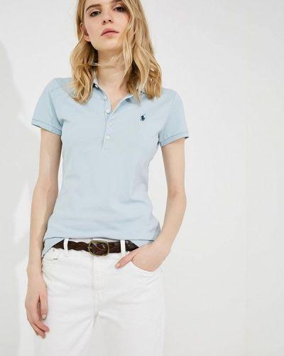 Голубое поло Polo Ralph Lauren
