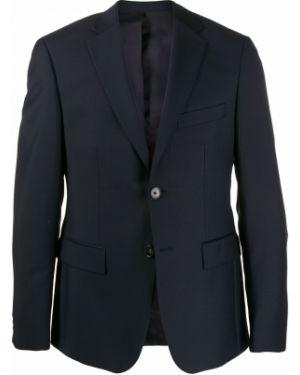 Однобортный приталенный классический пиджак из мохера Harmony Paris