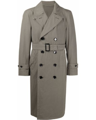 Długi płaszcz bawełniany z długimi rękawami Lemaire