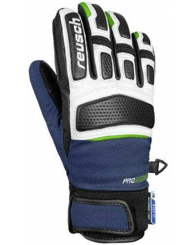 Rękawiczki - niebieskie Reusch