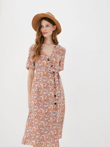 Платье с запахом осеннее Sweewe