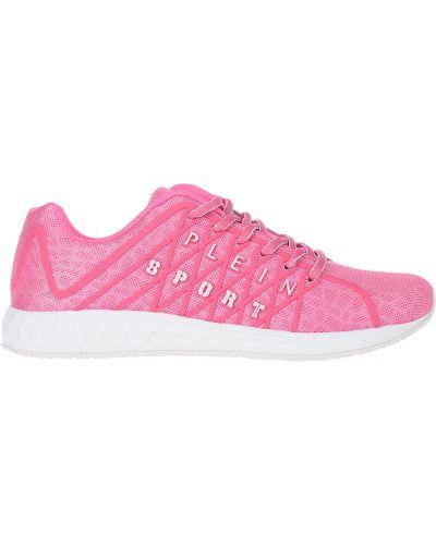 Розовые кроссовки Plein Sport