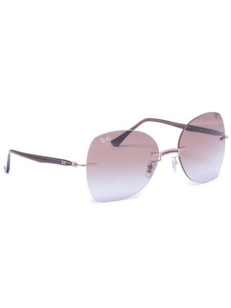 Brązowe okulary Ray-ban