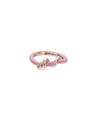 Różowy złoty pierścionek Bea Bongiasca