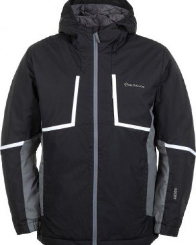 Куртка с капюшоном утепленная черная Glissade