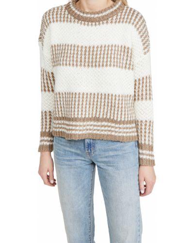 Акриловый длинный свитер с нашивками с длинными рукавами Minkpink