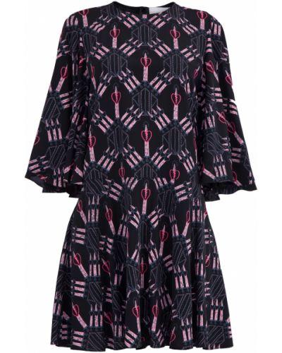 Платье со складками с драпировкой Valentino