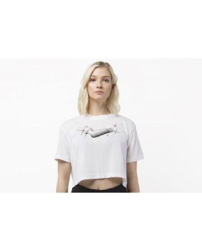 T-shirt bawełniana - biała Nike