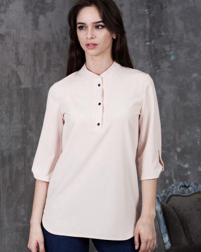 Рубашка на кнопках азалия