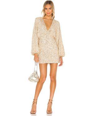 Sukienka dla wysokich kobiet z cekinami Retrofete