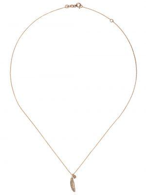 Ожерелье из золота с бриллиантом Kismet By Milka