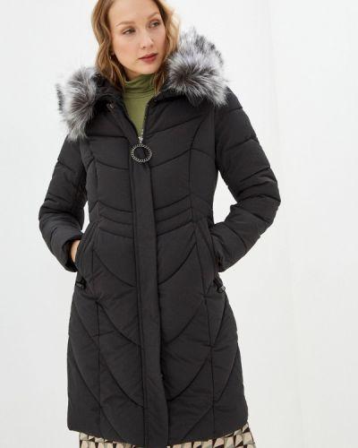 Черная утепленная куртка Winzor