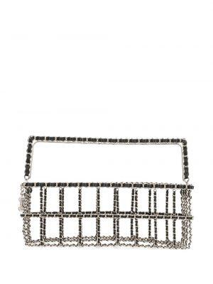 Czarna torebka na łańcuszku skórzana Chanel Pre-owned