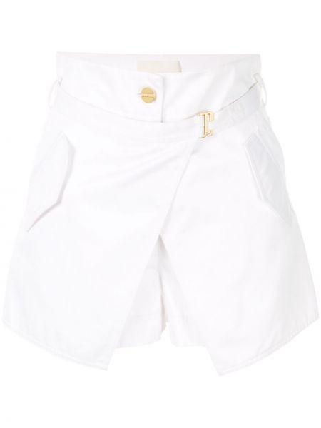 Белые шорты с карманами Dion Lee