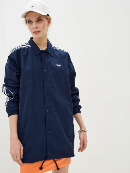 Куртка весенняя синий Adidas Originals