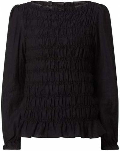 Czarna bluzka z wiskozy Levete Room