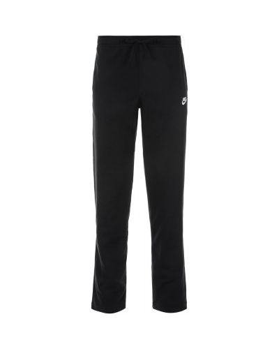 Спортивные брюки черные свободного кроя Nike