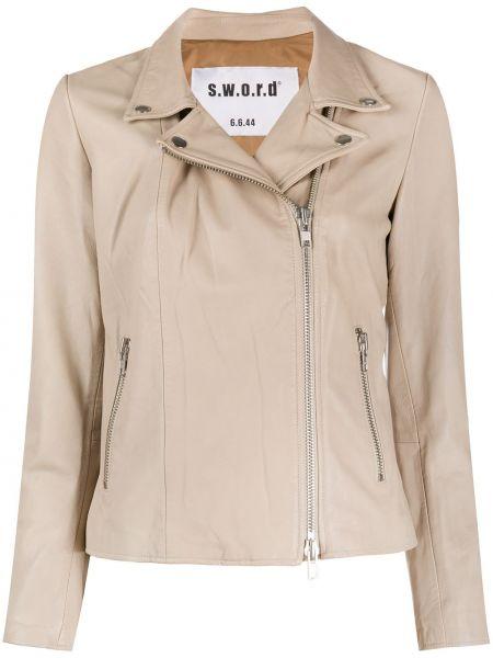 С рукавами приталенная куртка на молнии с воротником S.w.o.r.d 6.6.44