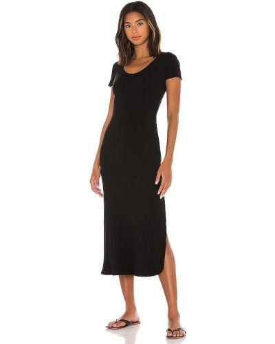 Платье из штапеля - черное Vitamin A