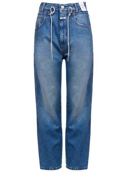 Хлопковые джинсы на молнии Closed