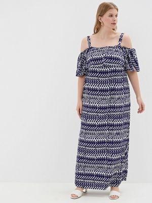 Платье - синее Evans