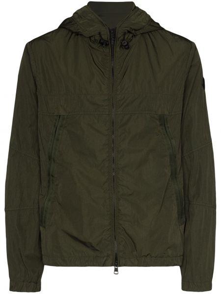 Zielona kurtka softshell Moncler