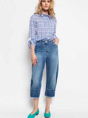 Spodnie bawełniane Deni Cler Milano