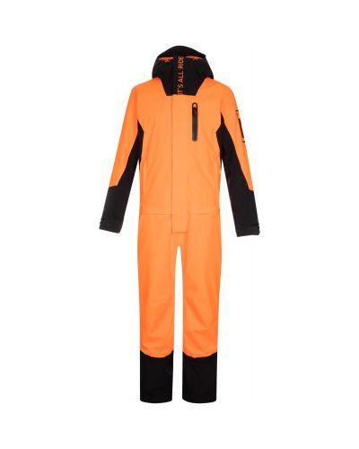 Свободный оранжевый спортивный комбинезон мембранный Termit