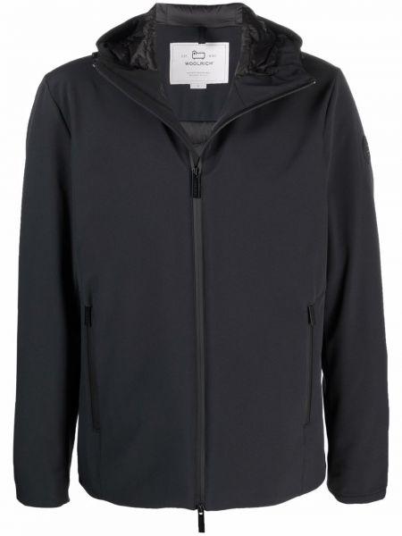 Куртка с капюшоном - черная Woolrich