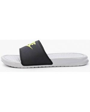 Сланцы черные Nike