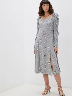 Серое платье а-силуэта M,a,k You Are Beautiful