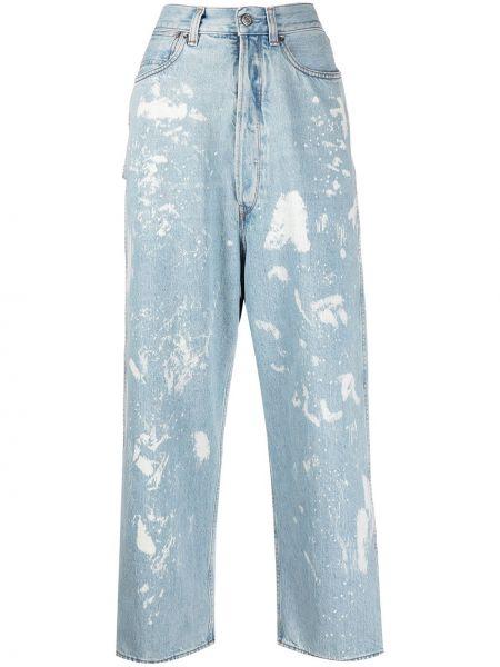 Прямые джинсы классические - синие Golden Goose