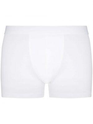 Белые носки эластичные Zimmerli