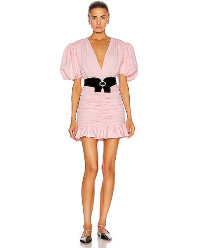 Różowa sukienka mini Marianna Senchina