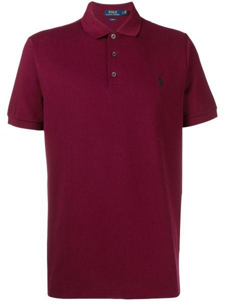 Koszula krótkie z krótkim rękawem z logo prosto Polo Ralph Lauren
