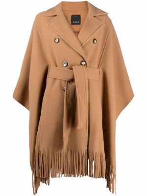 Шерстяное пальто - коричневое Pinko