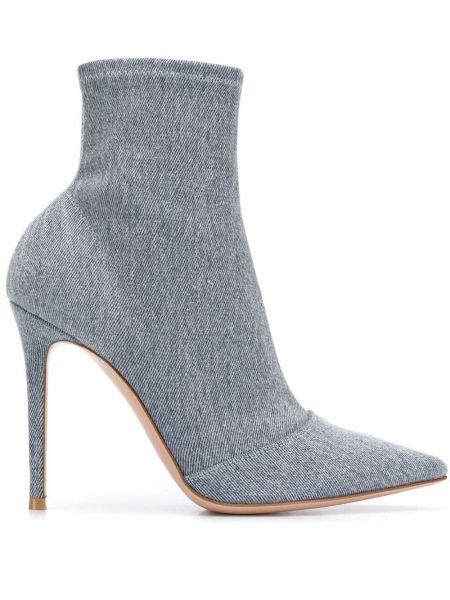 Парусиновые носки Gianvito Rossi